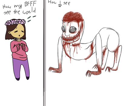 me and my BFFF :Seeing the world by scp-868