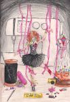 Mom's marionette (doll) by NikeWolf120