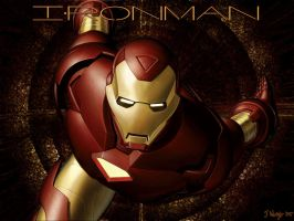 Ironman Wallpaper by 4fit