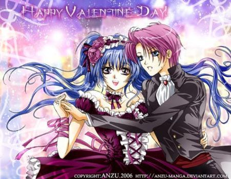 Happy Valentine Day 2007 by anzu-manga