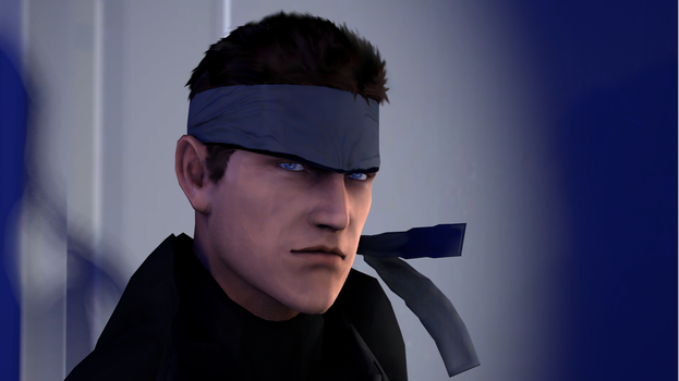 MGS1 Solid Snake by stealth211