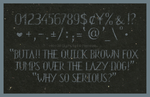 HKH Old Glyphs Font - Updated version 2 by Poemhaiku