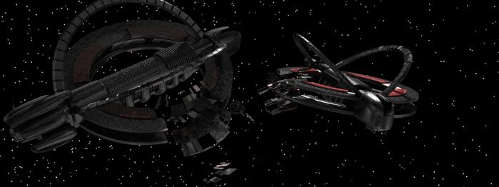 Farscape background ships [closer look #2] by TodayV4