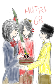 Happy Birthday Nesia by Ch1arII