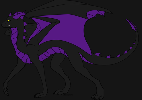 Nightmare the Dragoness by Dragonguardian253