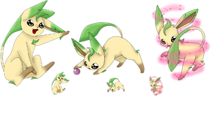 Squiby Leafeon