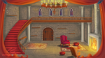 Castle room background by UszatyArbuz