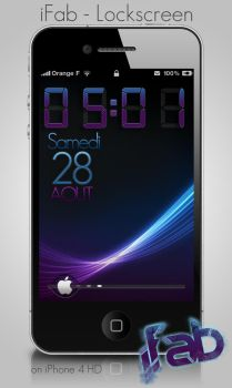 lockscreen iFab by daxxter13