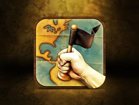 Application icon for upcoming iOS Game by Ramotion