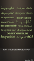 FONT PACK by SET07