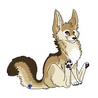 Pixel tag - fennec premade by Sushi