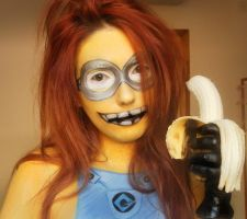 minion makeup by marymakeup