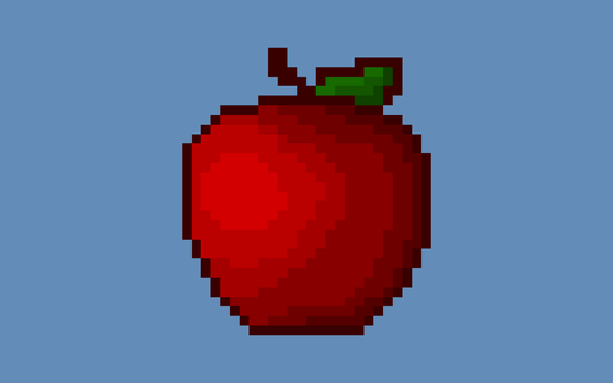 Apple Eating Animation by dsony