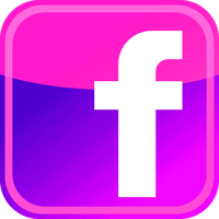 Facebook Pink/Purple icon by SlamItIcon