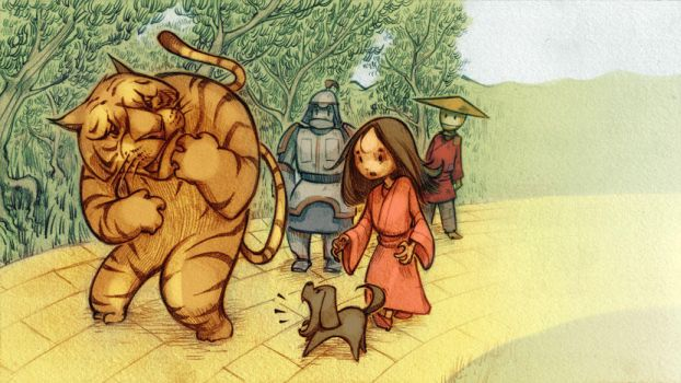 The Wizard of Oz in China 2 by biz20