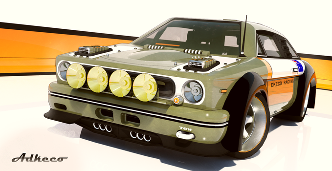 Adkeco Racing CV-3 coupe by aconnoll