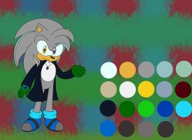 Makoto the hedgehog *2016 ref* by wolf-cattyartist256