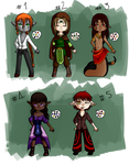 Adoptables - [OPEN - 4/5] by Crimi-Azna