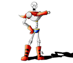 Let's Draw Papyrus (Speed Drawing Video) by Smudgeandfrank