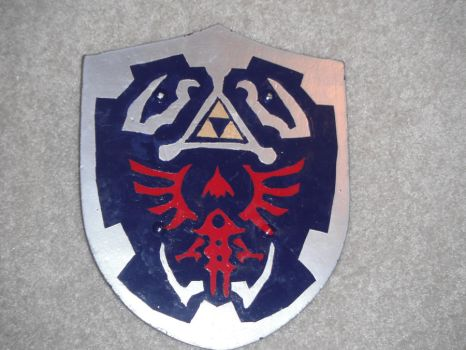 Hylian Shield replica by Herbrex