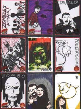 Sketch Cards 3 by Andy-Korty