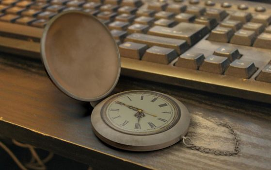 3D Model - Classic Pocket Watch by Terror-Inferno