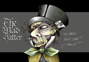 The Mad Hatter by asphyx0r