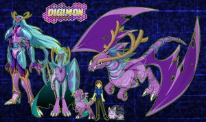 Digimon Frontier Lycannamon By Ice Wolf Elemental On