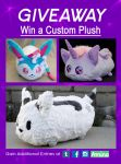 [GIVEAWAY] Win a Custom Plush like these by NovaNeedlestein