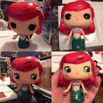 Ariel Detailed Pop Figure by My-Fragmented-Angel