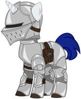 Pony Souls:  Equestrian Knight by Ipey1