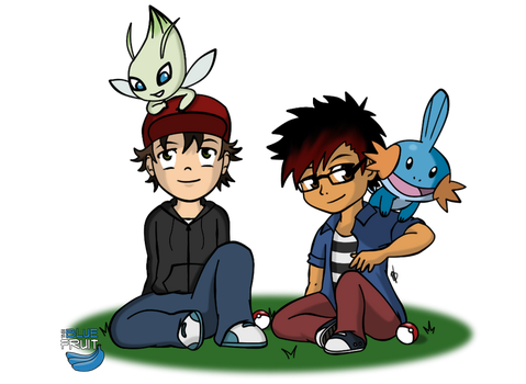 Pokemon Pals by TheBlueFruit