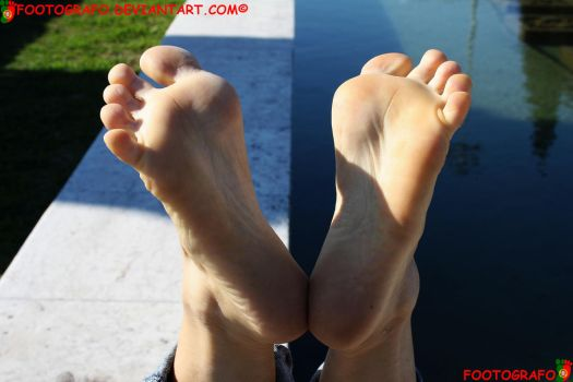 The Foot Fetish Poster by Footografo