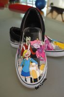 Adventure Time shoes 2 by haru2nate