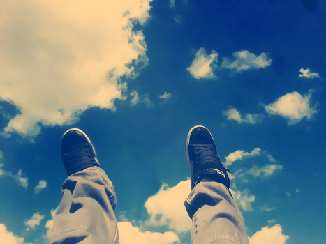 Etnies in the sky. by TehVen