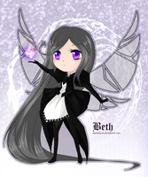 Beth chibi Magic by alamisterra