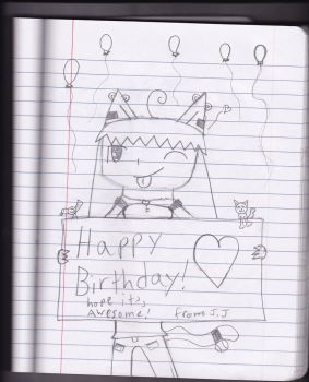 happy birthday everyone by meow12373