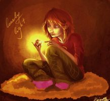 lonely light by viria13