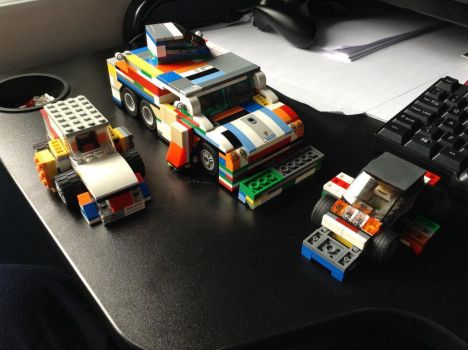 My Lego tornado vehicle Mk3 + 2 camera cars by TheAutisticKid1