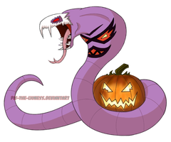 Halloween Arbok - Adopted