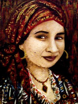 The Gypsy Woman by amoxes