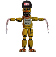WitheredChica125 in reality of FNAF by WitheredChica125