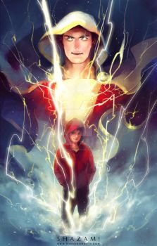 SHAZAM! by Haining-art