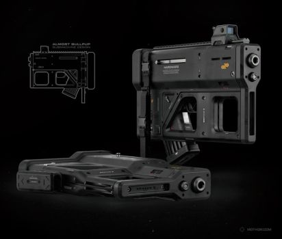 Almost Bullpup revisited by moth3R