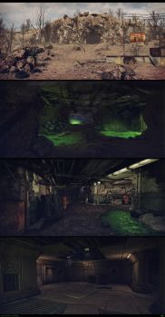 Toxic Caves - Fallout 2 tribute by rambooze