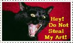 No Stealing Art Stamp1 by faery-dustgirl