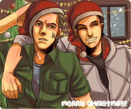 Christmas 16 and 17 by vanillatte54