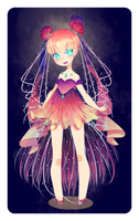 Jellyfish Witch [CLOSED Adopt Auction] by madichams