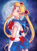 Sailor Moon by Of-Red-And-Blue