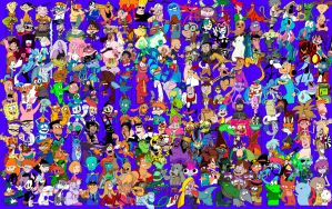 7 - 200 Favorite TV Cartoon Characters by TheZoologist